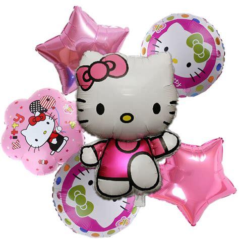 Balon Foil Airwalker Kucing aliexpress beli hello dekorasi pesta ulang tahun bola udara kedatangan baru 6 pcs