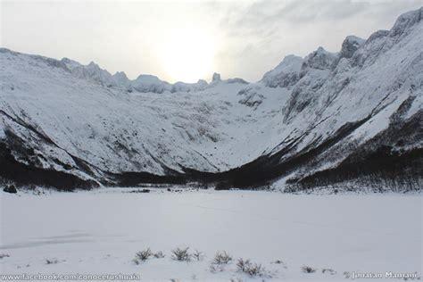 fotos ushuaia invierno laguna esmeralda invierno conocer ushuaia