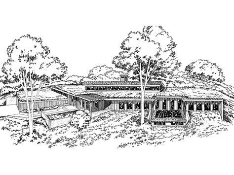 rockspring hill berm home plan 057d 0017 house plans and modern berm house plans