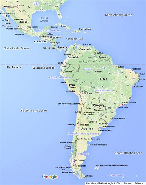 and south america map mexico and south america map roundtripticket me