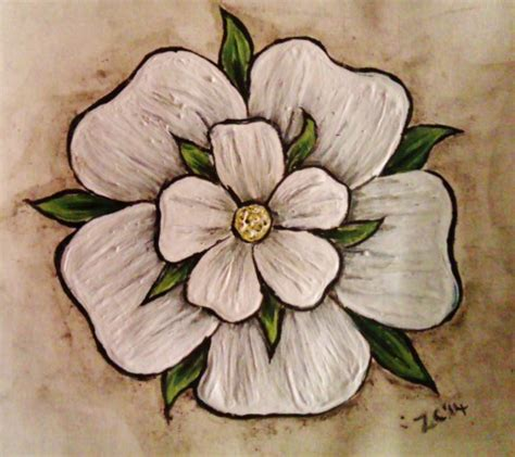 yorkshire rose tattoo designs