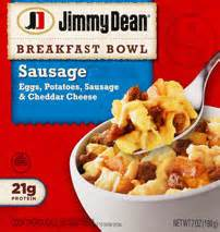 Potatoes In Toaster Oven Jimmy Dean Sausage Breakfast Bowl