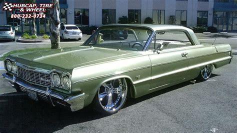 1964 impala wheels 1964 chevrolet impala foose nitrous se f300 wheels chrome