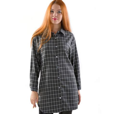 Promo Anabelle And Plait Shirt extremely soft plaid shirt in gray 43 discount patpat baby shopping app