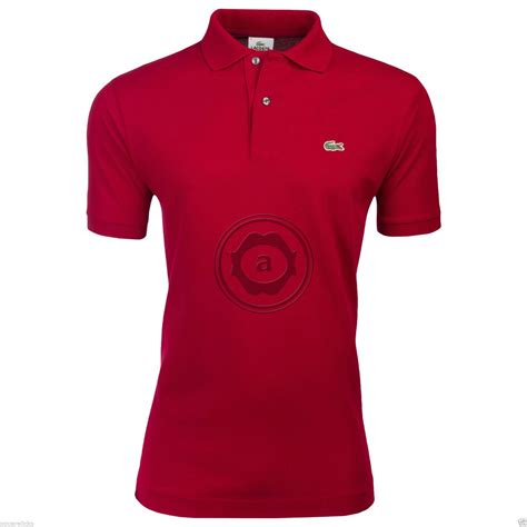 Overall Polos Fit L lacoste s l1212 polo shirt cotton classic fit all colours size 3 4 5 6 7 ebay