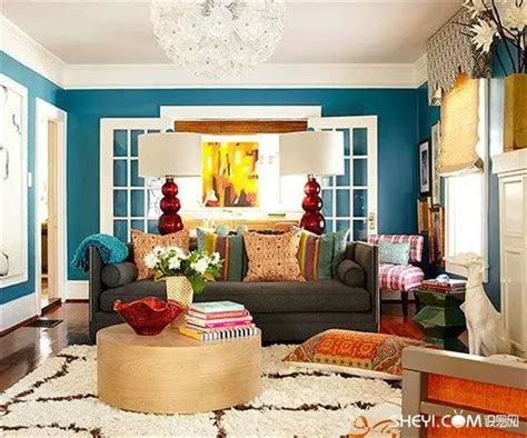 colorful home decor ideas colorful living room home decor for cheerful souls