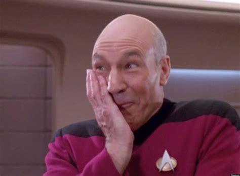 Star Trek Picard Meme - star trek the next generation blooper reel season 3