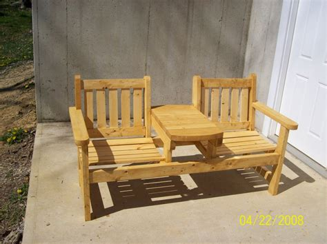 garden bench seats two seat garden bench by steveosshop lumberjocks com