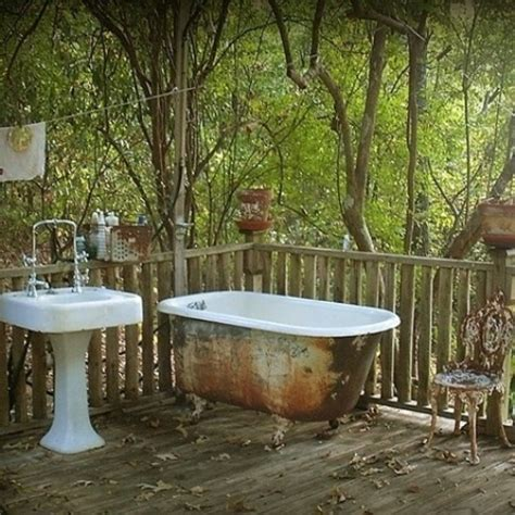 outdoor bathtub 45 outdoor bathroom designs that you gonna love digsdigs