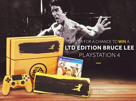 Ps4 Contest Giveaway - bruce lee custom ps4 sweepstakes