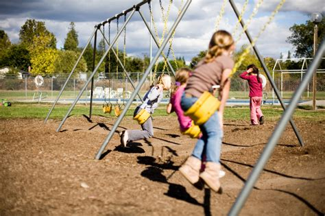 children on swing children s migraines may improve with cognitive behavior