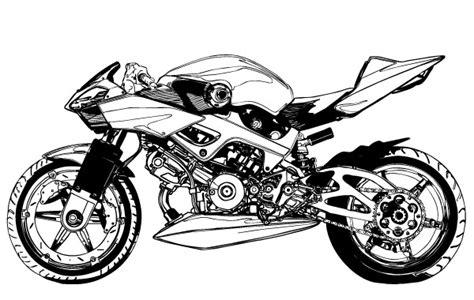 Motorradtouren Zum Runterladen by Schwarz Wei 223 Motorrad Vektor Der Kostenlosen Vektor
