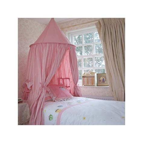girls bed tent rose multi stripe hanging play tent bed canopy by win