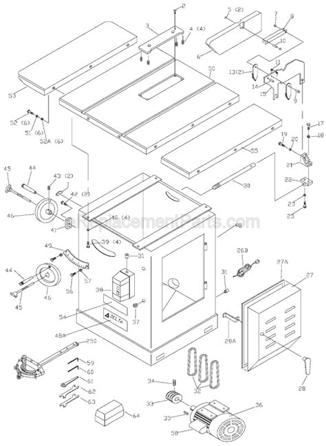 delta 36 729 parts list and diagram type 1