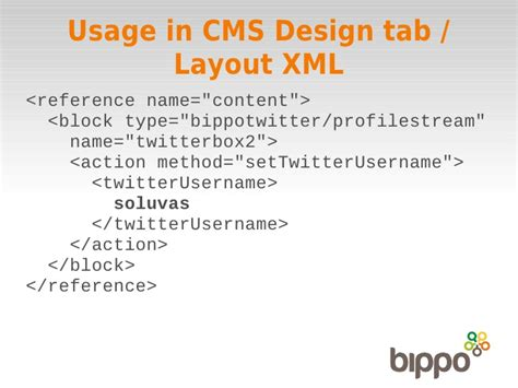 magento layout xml reference how to develop a basic magento extension tutorial