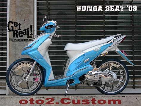 honda beat modifikasi honda beat modification modifikasi motor