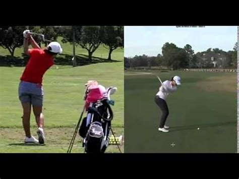 swing link david leadbetter lydia ko swing changes under leadbetter yourepeat