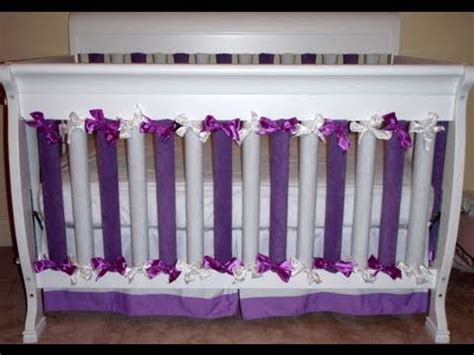 How To Make Crib Bumper Pads by How To Make Bumpers