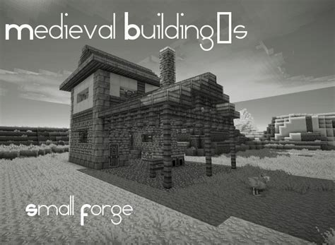 Building A Small Home Forge Building 180 S Small Forge Minecraft Project