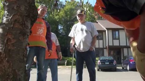 the home depot orange ct veteran s team depot project