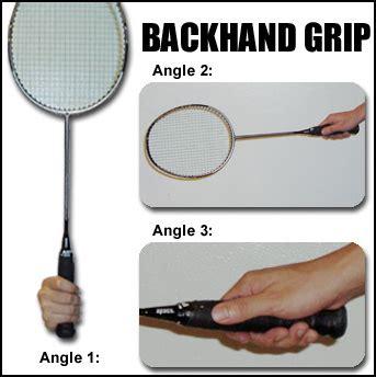Raket Stroke badminton badminton grip