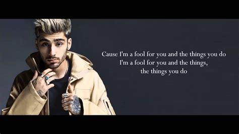 download mp3 zayn 3 27 mb download mp3 zayn fool for you lyrics