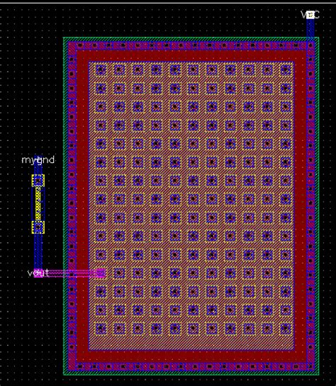 capacitor layout in cadence capacitor layout cadence 28 images layout with cadence extraction and simulation design