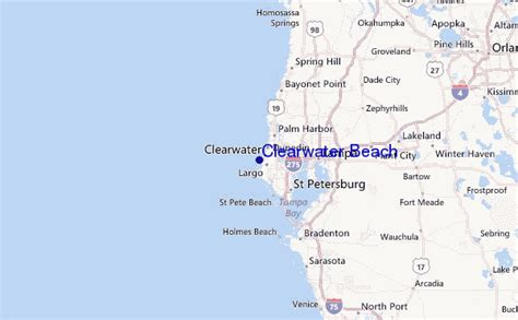 clearwater texas map clearwater surf forecast and surf reports florida gulf usa