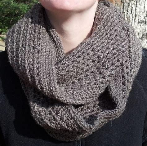 crochet patterns galore honeycomb infinity scarf