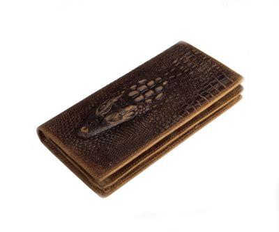 Handmade Wallet Pattern - handmade wallet retro crocodile pattern bi fold