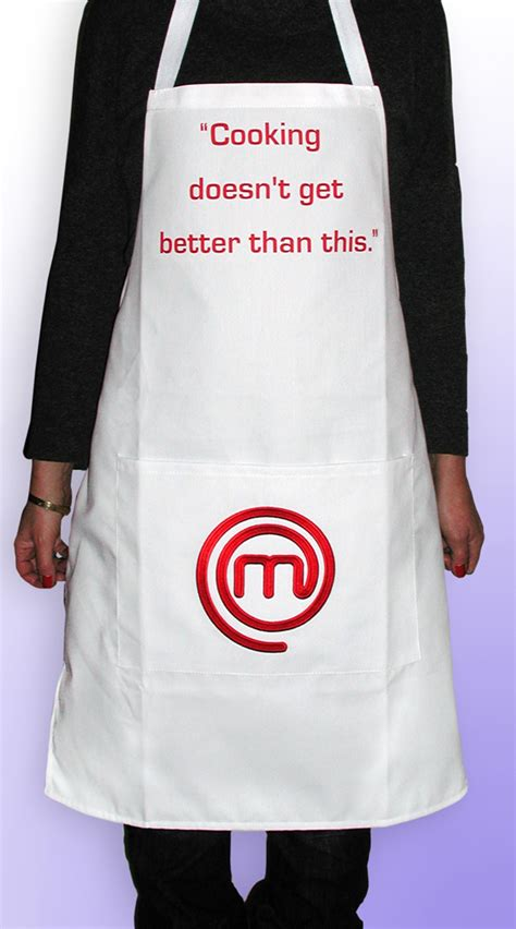 Tshirt Press Sign For Journalists get your apron on and make like a masterchef