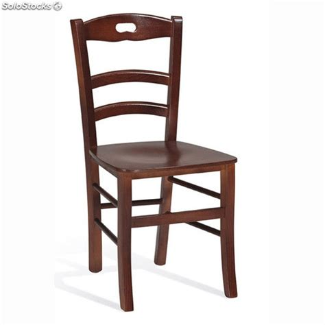 silla de madera  restaurante bar hotel hogar modelo aneto