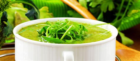 Broccoli Arugula Detox Soup by 5 Detox Soups Fitness Republic
