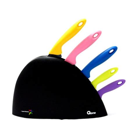 Oxone Rainbow Knife Set Ox 606 jual oxone ox 606 rainbow knife set harga