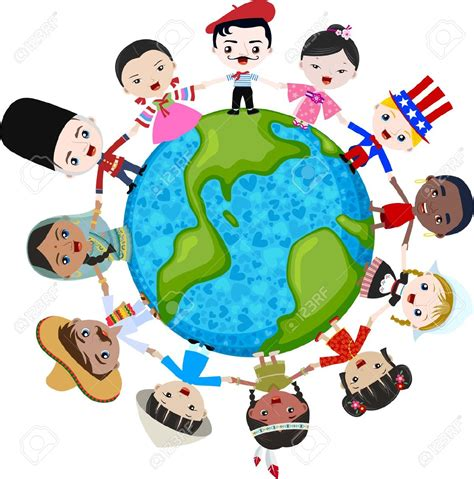 culture clipart cultural diversity pencil and in color