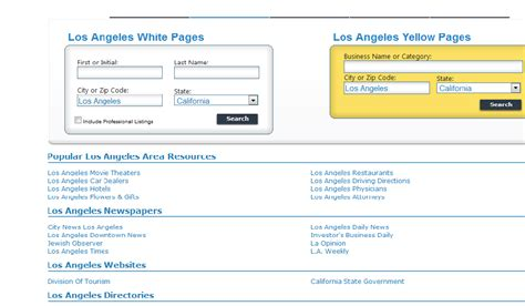 Whitepages Search For Address White Pages Lookup Address