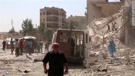 Bombed But Still A Day In The Sun by Syria Barrel Bomb Attack At Least 16 Killed At In