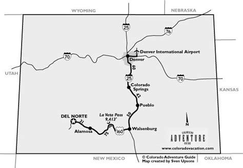 map of norte colorado norte colorado driving map colorado vacation