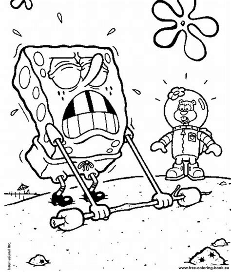 coloring pages spongebob page 1 printable coloring