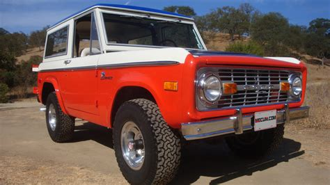baja bronco 1973 ford baja bronco 1 of 120 produced lot f281