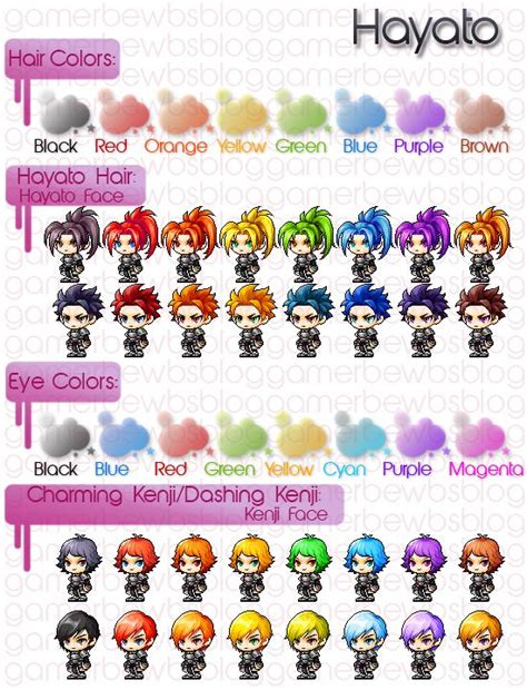 maplestory gale hair character creation hair character creation and faces