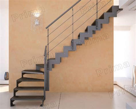 l post l indoor l shape wood treads staircase stainless steel staircase