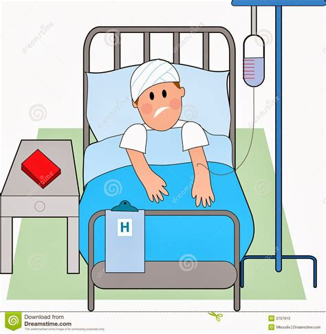 man in hospital bed hospital bed cartoon www imgkid com the image kid has it
