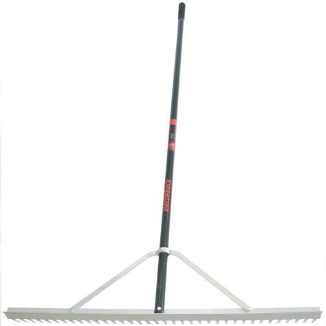 Landscape Rake Home Depot Union Tools 76063000 36 Inch Aluminum Landscape Rake