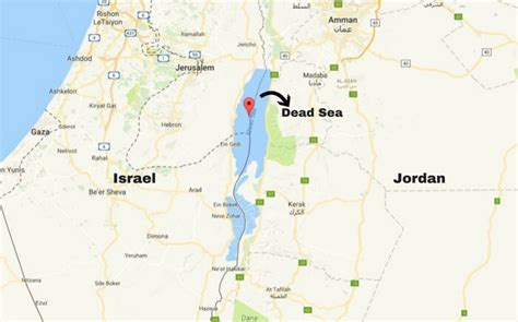 middle east map dead sea dead sea in is a traveler s paradise in the middle east