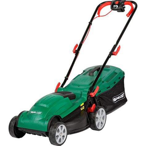 qualcast motor mowers qualcast 1400w electric rotary lawn mower 34cm
