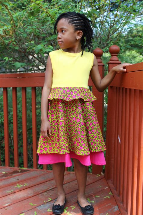 2015 simple ankara gowns simple ankara gown style for kids dezango fashion zone