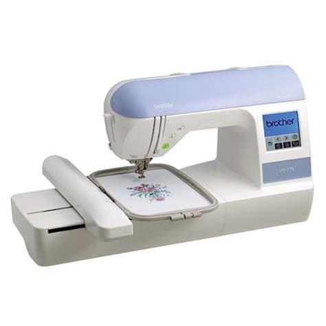 brother embroidery machine patterns brother pe770 embroidery machine by brother products
