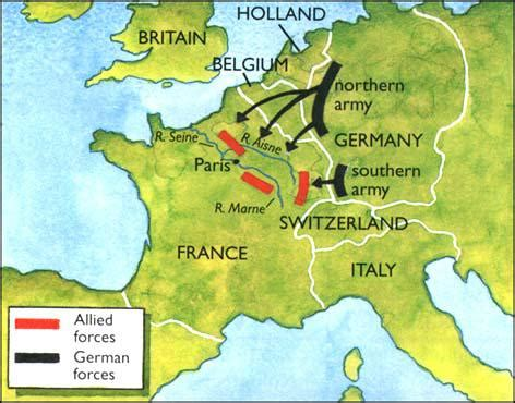 how did the schlieffen plan contribute to war?