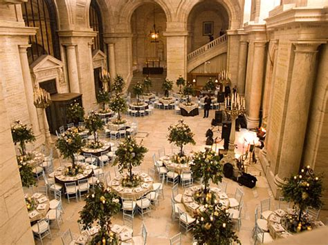 new york library wedding venue cost new york wedding guide the landmark wedding